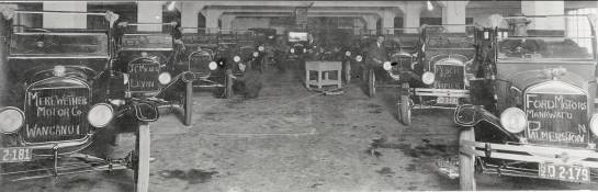 'Cars ready for despatch from the plant at 89 Courtenay Place, Wellington, The Colonial Motor Company Ltd website accessed 17/04/13,  http://www.colmotor.co.nz/about-us/company-history