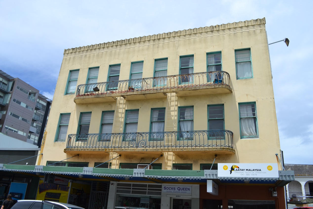 251-255 Cuba Street (Image: Charles Collins, 2014)