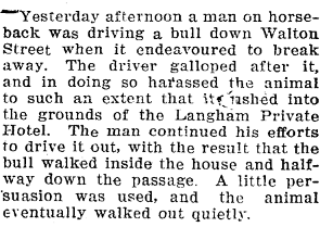 Northern Advocate , 30 October 1912, Page 4